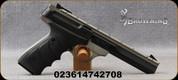 "Browning - 22LR - Buck Mark Contour Gray URX - Semi-Auto Rimfire Pistol - Ultragrip RX ambidextrous grips/Matte Gray Anodized frame/Matte Black, 5.5""Barrel, Weaver-style optics base, Adjustable Pro-Target rear sight, Patridge-style front sight, Mfg#"