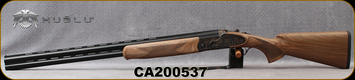 "Huglu - 12Ga/3""/28"" - 103FE - O/U w/Ejectors - Grade A Turkish Walnut w/Schnabel Forend/Case Hardened Receiver w/ Gr5 Hand engraving/Chrome-Lined, Vent Rib Barrels, SKU# 8681715391229, S/N CA200537"