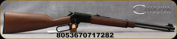 "Chiappa- 22LR - Model LA322 Standard Carbine - Take Down Rifle - Lever Action - English-Grip Beechwood Stock/Blued, 18.5""Barrel, Adjustable Elevation & Windage Buckhorn Style Rear Sight, Mfg# 920.383 - STOCK IMAGE"
