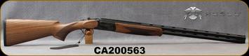 "Huglu - 28Ga/3""/28"" - 103DE Mini - O/U w/Ejectors - Grade AA Turkish Walnut Stock w/Schnabel Forend/Hand Engraved Case Coloured Receiver/Chrome-Lined Barrels, 5pc Mobile choke, SKU# 8681715394671-2, S/N CA200563"