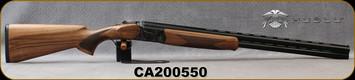 "Huglu - 12Ga/3""/28"" - 103DE - O/U w/Ejectors - Grade AA Turkish Walnut w/Schnabel Forend/Case Hardened Receiver/Chrome-Lined, Vent Rib Barrels, Bradley-Style White Bead Front Sight, Sku: 8681715391205, S/N CA200550"