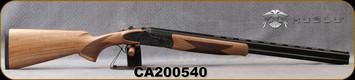 "Huglu - 20Ga/3""/26"" - 103FE - O/U w/Ejectors - Grade AA Turkish Walnut w/Schnabel Forend/Case Hardened Receiver w/ Gr5 Hand engraving/Chrome-Lined Barrels, SKU# 8682109405218-2, S/N CA200540"