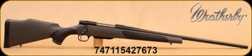 "Weatherby - 25-06Rem - Vanguard - Vanguard Series 2 DBM, Grey/Black griptonite stock, Blued 24"" Barrel, 3 round Detachable Box Magazine, Mfg# VGTD256RR4O"