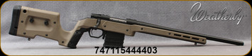 """Weatherby - 223Rem - Vanguard XRS Chassis Crossover - Adjustable Tan MDT XRS Chassis/Matte, bead blasted, blued finish, 20""""Barrel, Adjustable Match Quality, Two-Stage Trigger, Mfg# VA61223RR2O"""