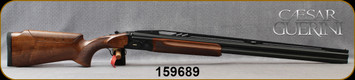 """Caesar Guerini - 12Ga/2.75""""/32"""" - Summit Black Impact Trap - O/U - Oil-Finish Walnut Stock w/Adjustable Comb/Coin Finish Engraved Receiver/Chrome-Lined Barrels, Tapered ventilated Top Rib, DTS trigger system, Maxis Chokes, S/N 159689"""