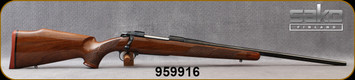 """Consign - Sako - 25-06Rem - Model 75 Deluxe - Bolt Action Rifle - Deluxe Walnut Stock/Blued, 22.8""""Barrel - only 60 rounds fired - in original box w/papers"""