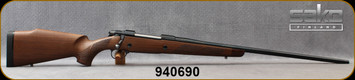 """Consign - Sako - 300WbyMag - Model 75 Deluxe - Bolt Action Rifle - Oil-Finish Walnut Stock/Blued, 26""""Barrel, Glass Bedded at Corlanes, Pachmayr Decelerator Pad - Only 80 rounds fired - In non-original Sako box"""