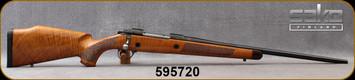 "Consign - Sako - 338WM - Model AV Deluxe - Bolt Action Rifle - Deluxe  Walnut Stock/Blued, 22""Barrel - shortened at Corlanes - Bedded, Kick-eez recoil pad - in non-original Tikka box"