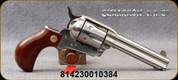 """Cimarron - 45LC - Thunderer Stainless - 6-Shot Revolver - Walnut Smooth Grip/Stainless Steel Frame/Finish, 4.75""""Barrel, Mfg# CA4507"""