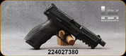 """Consign - Heckler & Koch - 9mm - VP9 - Semi-Auto - Striker Fire Action - Black Polymer, 4.75""""Barrel - c/w 2 magazines  - only 250 rounds fired -  in original case"""