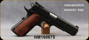 """Consign - Springfield Armory - 40S&W - 1911 Trophy Match - Semi-Auto - Wood Grips/Blued Finish, 5""""Barrel - 275 rounds fired - In original case"""