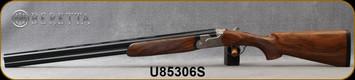 "Beretta - 12Ga/3""/28"" - Model 693 Field LH - O/U - Oiled High-Grade Wood Stock/Engraved Receiver/Blued, Steelium Barrels, OCHP Chokes, Mfg# 4WC6P4L200661, S/N U85306S"
