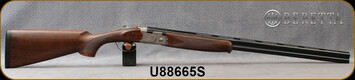 """Beretta - 20Ga/3""""/28"""" - Model 686 Silver Pigeon I - O/U - Walnut Stock/scroll-engraved receiver/Blued Barrels, 6x6Rib, Mfg# J686322, S/N U88665S"""