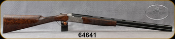 "Chapuis Armes - 20Ga/3""/28"" - Super Orion C135 Upland Artisan - O/U w/Ejectors - AAAAA luxury select walnut English-Grips Stock w/checkered walnut buttplate/Receiver Wrap-Around Hand-Engraving by Master Engraver, 5pc. Chokes, S/N 64641"