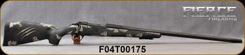 "Fierce - 280AI - CT Edge - Urban Camo - Carbon Tan/Titanium Action/Graphite Black, 26""Carbon-Wrapped, Fierce C3 carbon barrel, Threaded, Titanium Muzzle Brake, (2)magazines, Bipod Rail, S/N F04T00175"