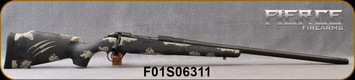 "Fierce - 300PRC - Carbon Fury - Urban Camo - Carbon Tan/Black Carbon Finish proprietary carbon fiber stock/Graphite Black, hand-lapped, cryogenically treated, match grade buttoned C3, 24""Carbon Wrapped Barrel, Titanium M.Brake, S/N F01S06311"