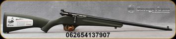 "Savage - 22LR - Rascal - Youth Single Shot - Bolt Action Rifle - Green Synthetic Stock/Blued Finish, 16.25"" Barrel, Mfg# 13790"