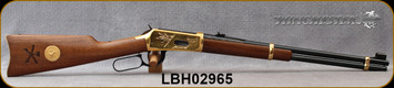 """Consign - Winchester - 44-40Win - Model 1894 Little Big Horn Commemorative Edition - Lever Action - Walnut/Brass Receiver/Blued, 20""""Barrel - In Original box, S/N LBH02965"""