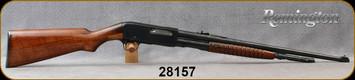 "Consign - Remington - 30Rem - Model 14 - Pump Action Repeating Rifle - Walnut Stock/Blued, 21""Barrel"