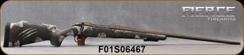 """Fierce - 6.5PRC - Fury - Midnight Brown/Tan Carbon Finish(Tan Claw)/Midnight Bronze Cerakote Finish, 24""""Threaded Barrel, 1:8""""Twist, Titanium Muzzle Brake, Bi-Pod Rail, Spare Magazine, S/N F01S06467"""