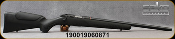 "Sako - 17HMR - Quad Synthetic - Bolt Action Rimfire Rifle - Black Synthetic Stock w/Monte Carlo-type cheek piece/Blued, 22""Heavy Barrel, 1:9""Twist, 6-Grooves, Mfg# SS7023L10"