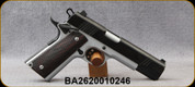 """Consign - Norinco - 45ACP - M1911 A1 - Wood Grips/Two-Tone Finish, 5""""Barrel, 2 magazines - only 150 rounds fired"""