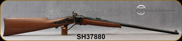 "Taylor's & Co - Pedersoli - 17Hornet - Sharps Small Game - American Walnut Stock/Case Hardened Frame/Blued, 24""Barrel, Blade Front Sight, Buckhorn Rear Sight, Mfg# S764.017, S/N SH37880"