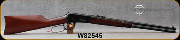 """Taylor's & Co - 38-55Win - Model 1894 Carbine - Lever Action - Walnut Carbine-style buttstock & forend/Forged Steel Receiver/Blued Metal Finish, 20""""Round Barrel, Mfg# 2906, S/N W82545"""