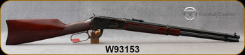 """Taylor's & Co - 38-55Win - Model 1894 Carbine Case Hardened - Lever Action - Walnut Carbine-style buttstock & forend/Case Hardened Steel Receiver/Blued Metal Finish, 20""""Round Barrel, Mfg# 700107, S/N W93153"""