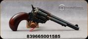 "Taylor's & Co - 38Spl - Model 1873 Stallion Birdshead Compact - Revolver - Walnut Birdshead Grip/Case Hardened Frame/Blued, 5.5"" Barrel, Mfg# 3005"