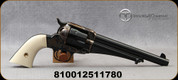 """Taylor's & Co - 45LC - 1875 Army Outlaw 'Rambler - Ivory Grips/Case Hardened Frame/Blued, 7.5""""Barrel, Mfg# 0151G48"""