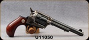 "Consign - Cimarron - 38Spl - Lightning - Revolver - 1-Piece Walnut Smooth Grip/Case Hardened Frame/Standard Blued, 5.5"" Barrel - only 50 rounds fired - in original box"