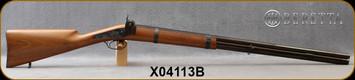 "Consign - Beretta - 12Ga/30"" - 1680 Bi-Centenial Edition Black Powder O/U - Walnut Stock/Engraved Case Hardened metalwork/Blued Barrels,"