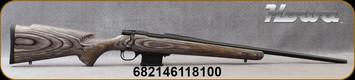 "Howa - 223Rem - Model 1500 Mini Action Laminate - Bolt Action Rifle - Grey Laminate Stock/Blued, 22""Standard contour Barrel, Mfg# HMGL223"