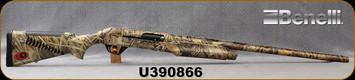 """Consign - Benelli - 12Ga/3.5""""/28"""" - Super Black Eagle - Inertia Driven Semi-Auto Shotgun - Advantage Max4 Camo Finish, c/w 5pc Crio Chokes - Only 100 rounds fired - in original case"""