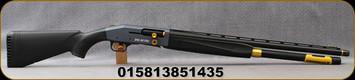 "Mossberg - 12Ga/3""/24"" - Model 940 JM Pro 5-shot - Semi-Auto Shotgun - Black Synthetic Stock/Pewter Receiver/Black Finish, Vent-Rib Barrel, Briley Extended Chokes, Mfg# 85143"