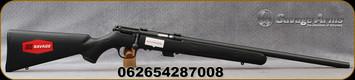 "Savage - 22LR - MKII FV - Bolt Action Rifle - Black Synthetic Stock/Blued Finish, 21""Barrel, 5 Round Detachable magazine, Mfg# 28700"