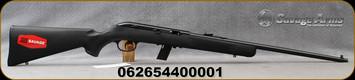 "Savage - 22LR - Model 64FXP - Semi Automatic Rifle - Black Synthetic Stock/Blued Finish, 20.5"" Barrel, 10 Rounds, c/w Tasco 4x15mm Scope, Mfg# 40000"