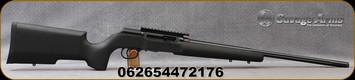 "Savage - 22LR - Model A22 Pro Varmint - Semi Auto Rimfire Rifle - Black Textured Target Stock/Black Finish, 22""Fluted Heavy Barrel, 10 Round Detachable Rotary Magazine, Mfg# 47217"