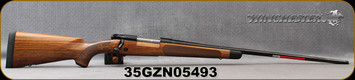 "Winchester - 264WM - Model 70 Super Grade AAA French - Bolt Action Rifle - Grade AAA French Walnut w/Shadowline cheekpiece/Polished Blued Finish, 26"" Barrel, 3 Round Hinged Floorplate, Adjustable Trigger, Mfg# 535239229, S/N 35GZN05493"