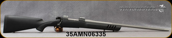 """Used - Winchester - 308Win - Model 70 Coyote Light - Black Textured Synthetic Stock w/Vented Forend/Matte Stainless, 24""""Barrel, Mfg# 535202230 - only 5 rounds fired - In original box"""