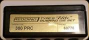Redding - Type S-Elite Bushing Die Set - 300 PRC - 60776