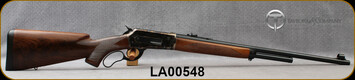 "Taylor's & Co - Pedersoli - 45-70Govt - Model 1886/71 Premium - Lever Action Rifle - Walnut Stock/Case Hardened Steel Frame/Standard Blued Finish, 24""Round Barrel, Mfg# RIFV740.457, S/N LA00548"