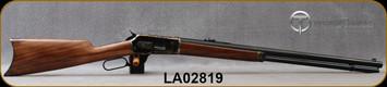 "Taylor's & Co - Pedersoli - 45-70Govt - Model 1886 Sporting Classic - Lever Action Rifle - Walnut Stock/Case Hardened Steel Frame/Standard Blued Finish, 26""Round Barrel, Mfg# RIFS739.457, S/N LA02819"
