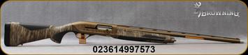 "Browning - 12Ga/3.5""/28"" - Maxus II Wicked Wing – Mossy Oak Bottomland - Semi-Auto Shotgun - MOBL Camo Finish Composite Stock/Burnt Bronze Cerakote camo finish Receiver/Burnt Bronze Finish, Vent Rib Barrel, (3)Extended Invector-Plus Goose Band choke"
