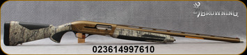 "Browning - 12Ga/3.5""/28"" - Maxus II Wicked Wing – Realtree Timber - Semi-Auto Shotgun - Realtree Timber Camo Finish Composite Stock/Burnt Bronze Cerakote camo finish Receiver/Burnt Bronze Finish, Vent Rib Barrel, (3)Extended Invector-Plus Goose Band"