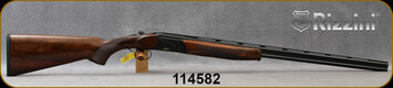 "Rizzini - 410Ga/3""Magnum/28"" - BR110 Small - Boxlock O/U Break Action Shotgun - Upgraded Turkish Walnut/Black Cerakote Finish, Vent-Rib Barrels, automatic ejectors, single-selective trigger, 5pc Flush-Fit Chokes, S/N 114582"
