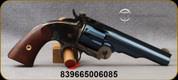 "Taylor's & Co - Uberti - 45LC - Top Break Schofield Revolver - Walnut Grips/Case Hardened Frame/Charcoal Blue Finish, 5"" Barrel, 6 Shot, Mfg# REV0855C09"
