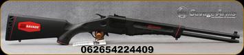 "Savage - 22LR/410Ga/3"" - Model 42 Takedown - Over Under Break Action Combo Rifle/Shotgun - Black Synthetic Stock/Black Finish, 20""Barrels, Mfg# 22440"