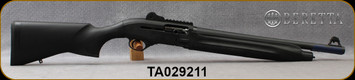 """Consign - Beretta - 12Ga/3""""/18.5"""" -  Model 1301 Gen1 Tactical - Gas operated Semi-Auto - Black Synthetic/Matte Black Finish, Adjustable ghost-ring rear, blade front sight, Pictanny optics rail, Mfg#7R1B11111C611 - only 100rds fired - In original case"""